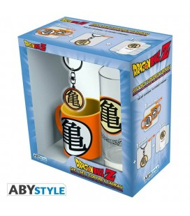 "Gift box Dragonball ""Kame"" - include mini tazza, bicchiere, portachiavi - Abystyle"