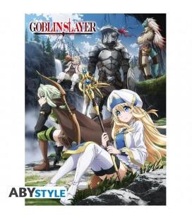 Poster Ufficiale Con Protagonisti Goblin Slayer - 52 X 38 Cm - Abystyle