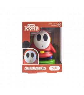 Lampada Super Mario: Omino Timido Con Maschera (Shy Guy) - Icon Light 10 Cm - Paladone