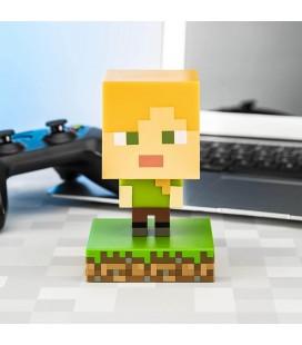 Mini lampada Icons light : Alex di Minecraft - 11 cm - Paladone