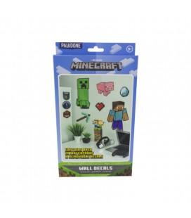 Set di adesivi da parete Minecraft - rimovibili in vinile - Paladone wall decals
