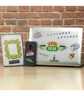 Set adesivi Friends - riposizionabili impermeabili - Paladone stickers gadget decals