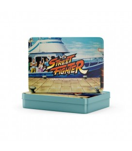 Gift Set con spille personaggi Street Fighter (12 pz.) - metal box - Capcom
