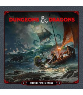 Dungeon & Dragons Calendar 2021 (English Version) - Danilo promotions