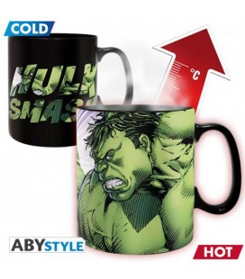 "MARVEL - TAZZA TERMICA/MUG HEAT CHANGE - KING SIZE 460ML - ""HULK"""