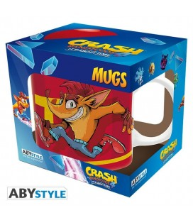 Tazza Crash Bandicoot Tnt - 320 Ml - Abystyle