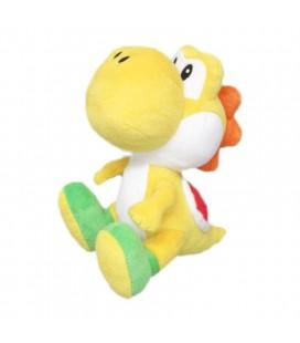 Peluche Yoshi Yellow Di Super Mario Bros - Nintendo - 20 Cm - Abystyle