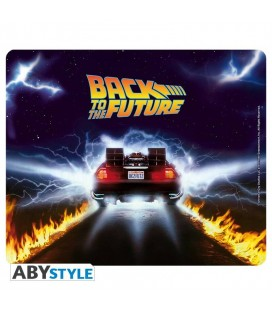Tappetino Per Mouse Morbido – Delorean - Back To The Future - 23 Cm - Abystyle
