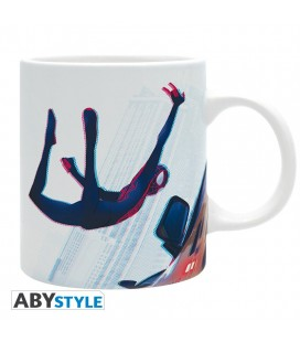 Tazza Spiderman Miles Morales In Volo - 320 Ml - Abystyle