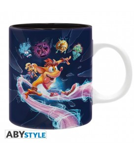 "Tazza Crash Bandicoot ""It's About Time"" - 320 ml - Abystyle"