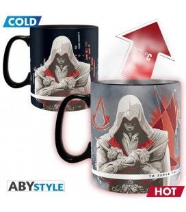Tazza Termosensibile Assassin'S Creed The Assassins - 460 Ml - Abystyle