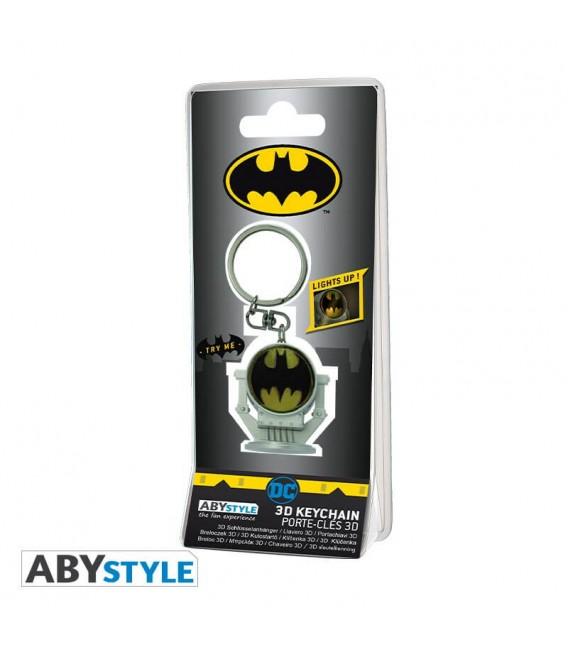 Portachiavi Bat-segnale in 3D - DC Comics - keyring by Abystyle