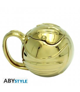 Tazza 3D Boccino d'Oro - Golden Snitch Harry Potter - Abystyle