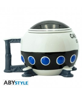 "Tazza 3D Dragon Ball: Navicella ""Capsule Corp"" - 550 ml - Abystyle"