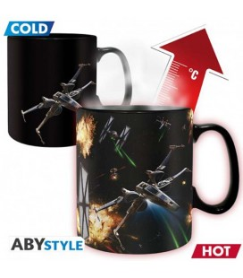 "STAR WARS - MUG HEAT CHANGE/TAZZA TERMICA 460ML ""SPACE BATTLE"""