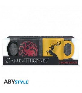 "GAME OF THRONES - MINI MUGS/MINI TAZZE ""TARGARYEN & BARATHEON"""