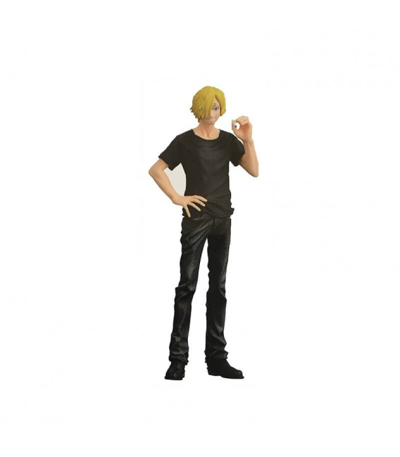 Figure One Piece Sanji - DXF Jeans Freak - total black version