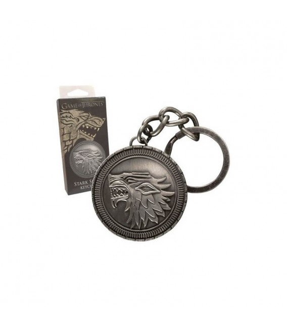 Portachiavi Game of Thrones - Stark Shield Keychain - Noble Collection