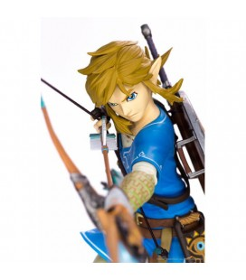 Action Figure Link - The Legend Of Zelda: Breathe Of The Wild - Collector's Edition 25 cm - First 4 Figures