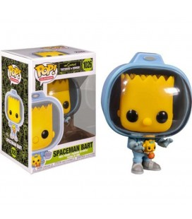 Funko Pop! Spaceman Bart Da The Simpsons Treehouse Of Horror - 9 Cm