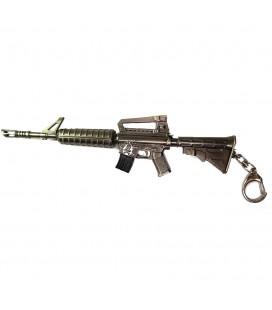 Portachiavi in Metallo a Forma di Fucile d'Assalto Americano semiautomatico - Pidak Shop