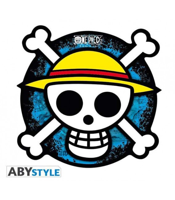ONE PIECE - MOUSEPAD - Skull Pirate Luffy