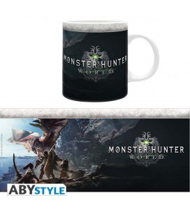 "MONSTER HUNTER WORLD - MUG/TAZZA - ""LOGO MONSTER HUNTER WORLD"""
