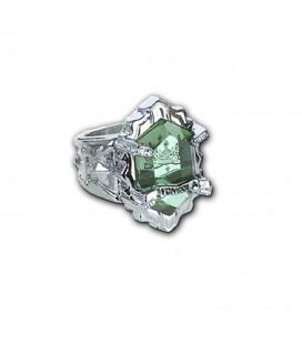 Anello Con Pietra Verde Della Famiglia - Misura 18 Ø - Pidak Shop