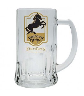 THE LORD OF THE RINGS - BOCCALE/TANKARD 50CL -PRANCING PONY/PULEDRO IMPENNATO