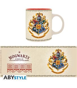Harry Potter - Mug/Tazza 320Ml Hogwarts 4 Case/Houses
