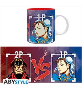 Street Fighter- Mug/Tazza 320Ml Bison Vs Chun-Li