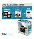 Dc Comics - Gift Box - Glass/Bicchiere 29Cl + Portachiavi/Keyring Pvc + Mini Mug/Tazza - Batman