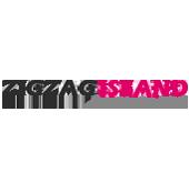 Zigzag island